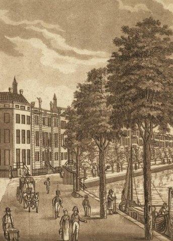 Amsterdamse gracht, UB Amsterdam.