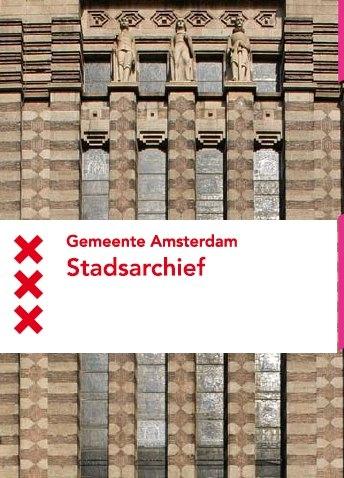 Excursie NBV naar het Stadsarchief Amsterdam.