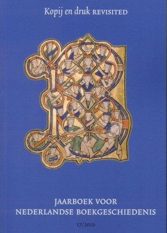 Jaarboek 2010 van de Nederlandse Boekhistorische Vereniging (NBV).